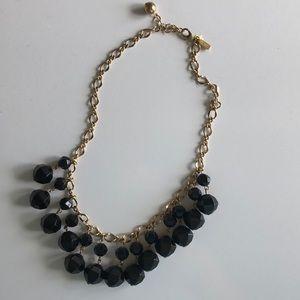Kate Spade Black Bauble Necklace